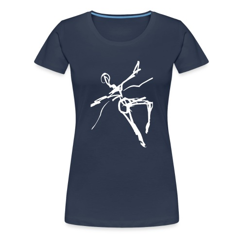 Ikarus 2 weiß - Frauen Premium T-Shirt