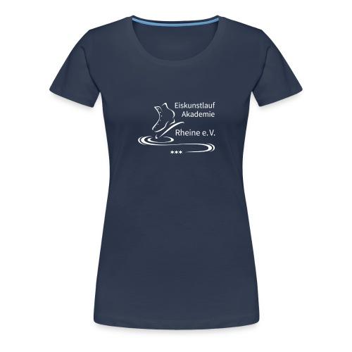 EARheine Logo weiss - Frauen Premium T-Shirt