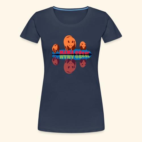 Mama bear et ses oursons - T-shirt Premium Femme