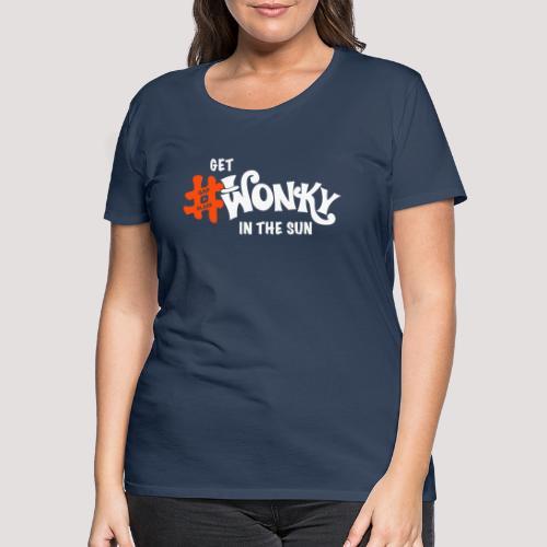 Wonky in the sun - Women's Premium T-Shirt