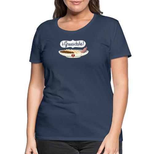 Linsen - Spätzle - Saiten - Frauen Premium T-Shirt