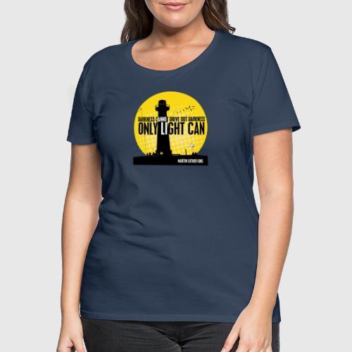 MLK png - Dame premium T-shirt