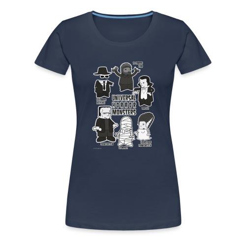 UNIVERSAL HORROR MONSTERS - Women's Premium T-Shirt