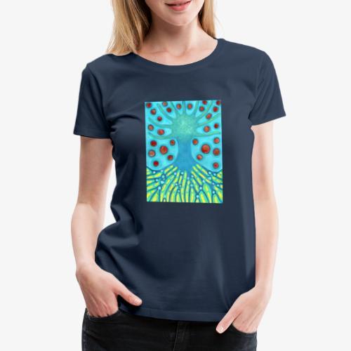 Drzewo I Planety - Koszulka damska Premium