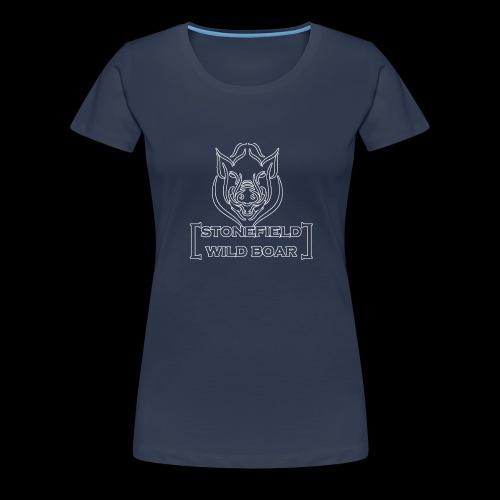 stonfield wild boar png - Frauen Premium T-Shirt