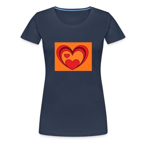 hart-png - Vrouwen Premium T-shirt