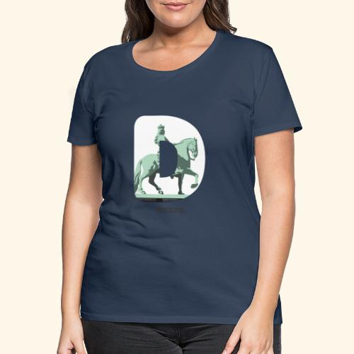 Düsseldorf T-Shirt Jan Wellem D weiß - Frauen Premium T-Shirt