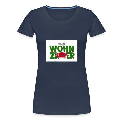 Wohnzimmer-Logo - Frauen Premium T-Shirt