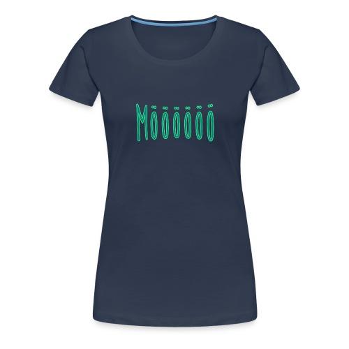 Mööööö png - Frauen Premium T-Shirt