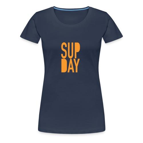 supday_apparel_orange - Vrouwen Premium T-shirt