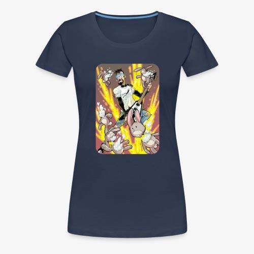 Leo Rock Bunny - Premium T-skjorte for kvinner