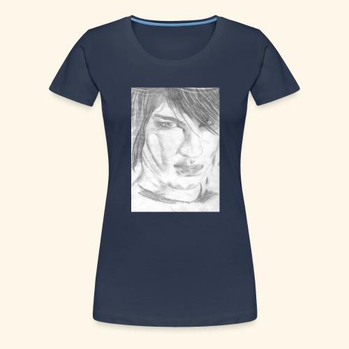 Gesicht - Frauen Premium T-Shirt