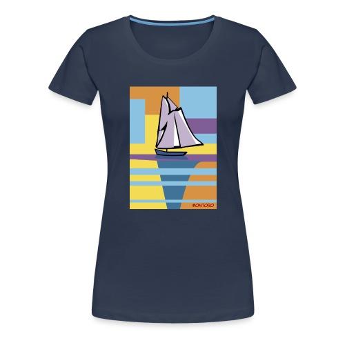 Au large, aube - T-shirt Premium Femme