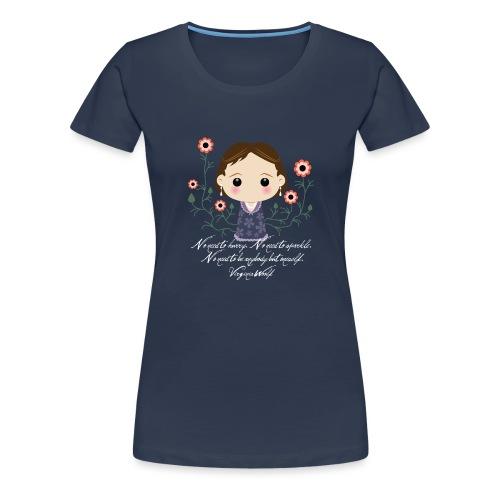 Virginia Woolf citazione [ENG] - Maglietta Premium da donna