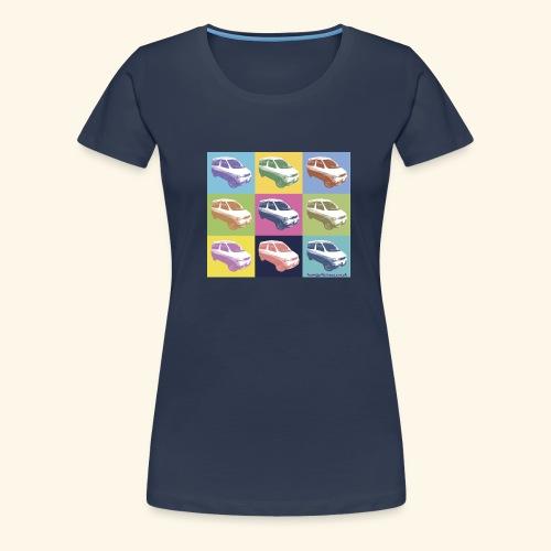 warhol bongo - Women's Premium T-Shirt