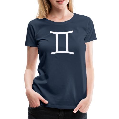 Tvillingarna - Premium-T-shirt dam