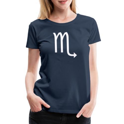 Skorpion - Premium-T-shirt dam
