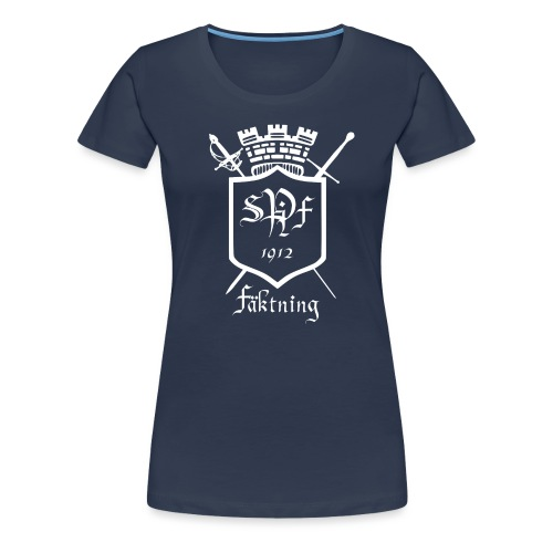 spiff logo white - Premium-T-shirt dam