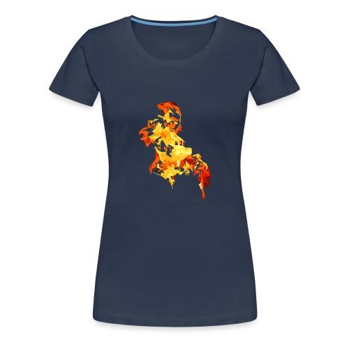 Blazing - Koszulka damska Premium