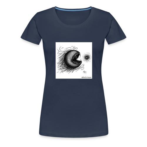 evilpacman - Women's Premium T-Shirt