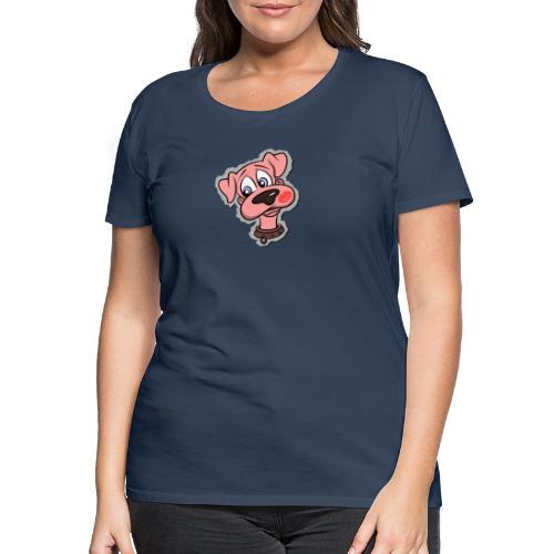 Hund zum Kuscheln - Frauen Premium T-Shirt
