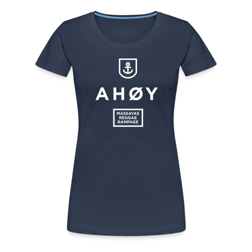 Ahoy_Logo - Frauen Premium T-Shirt
