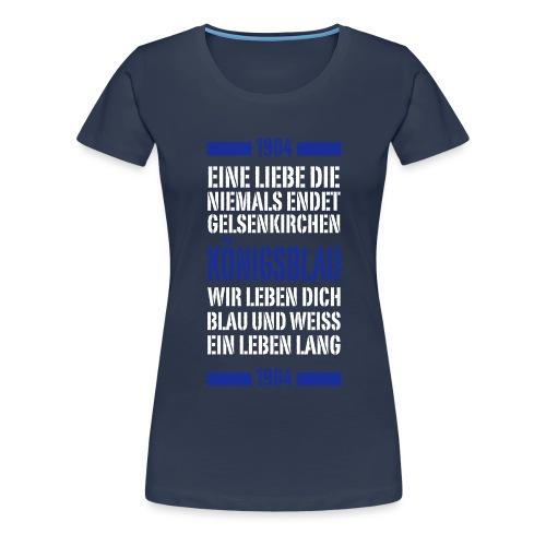 GE Schrift Typo - Frauen Premium T-Shirt