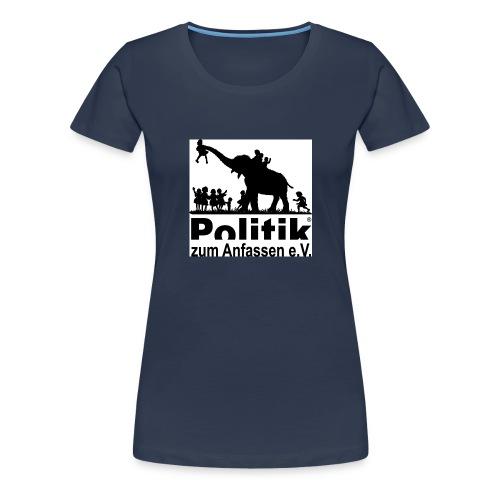 logo politik zum anfassen ev 2011 - Frauen Premium T-Shirt