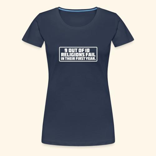 Religion - Frauen Premium T-Shirt