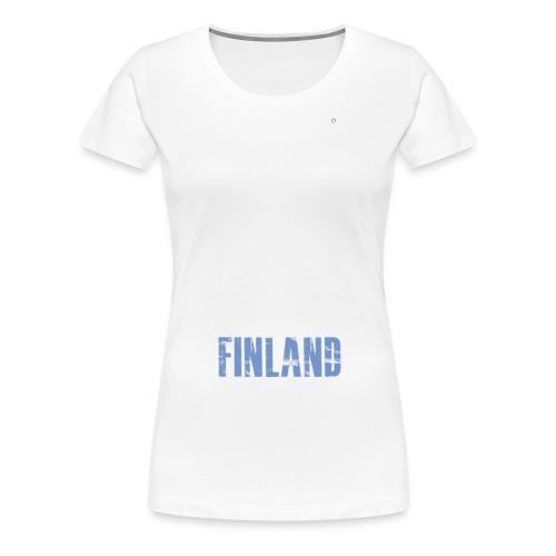 suomifinlandperkele - Naisten premium t-paita