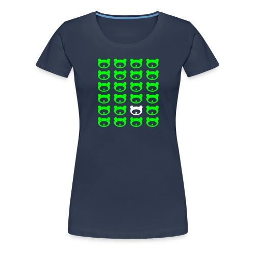 Bärenrapport - Frauen Premium T-Shirt