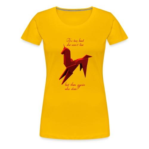 UnicornioBR2 - Camiseta premium mujer