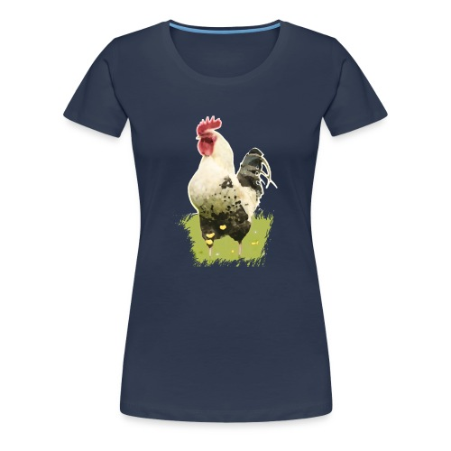 gallo-primavera - Maglietta Premium da donna