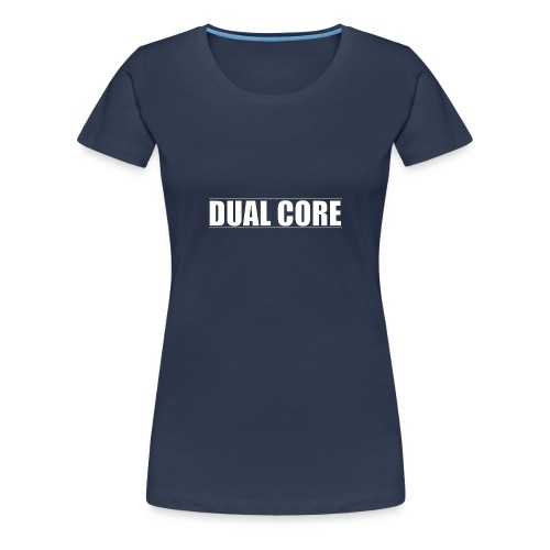 DUAL CORE GIRL TOP - Vrouwen Premium T-shirt