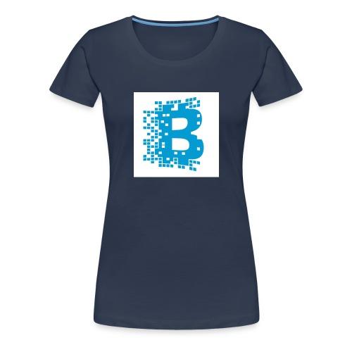 blockchain - Vrouwen Premium T-shirt