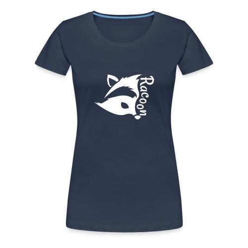 Raccon, Waschbär - Frauen Premium T-Shirt