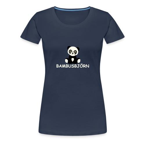 kleiner Bambus-Björn - Frauen Premium T-Shirt