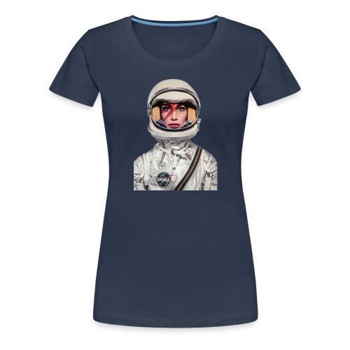 Dora Stardust 2 - Frauen Premium T-Shirt