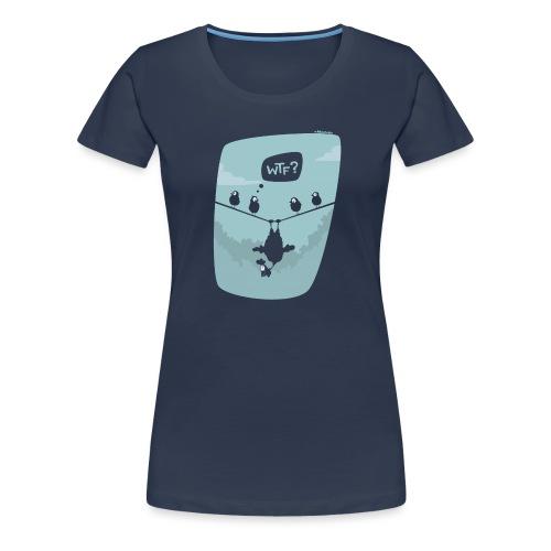 Chicken fly - T-shirt Premium Femme