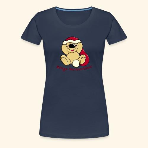 Bärige Weihnachten - Frauen Premium T-Shirt