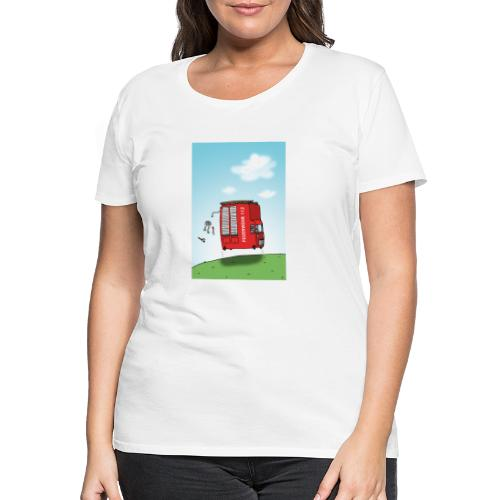 Feuerwehrwagen - Frauen Premium T-Shirt