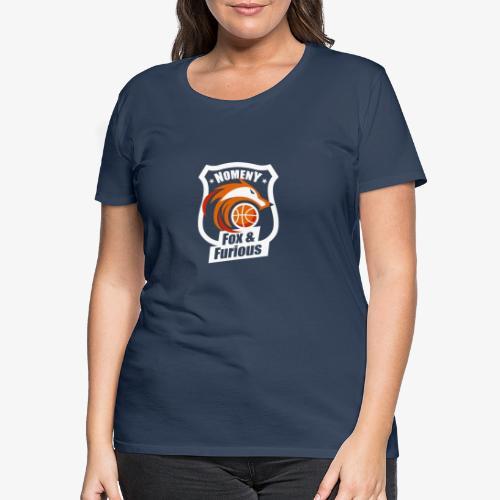 Nomeny Basket Blanc - T-shirt Premium Femme