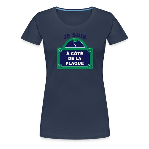 acdlp 3C - T-shirt Premium Femme