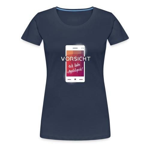 Applelepsie - Die Technik Anfälle - Frauen Premium T-Shirt