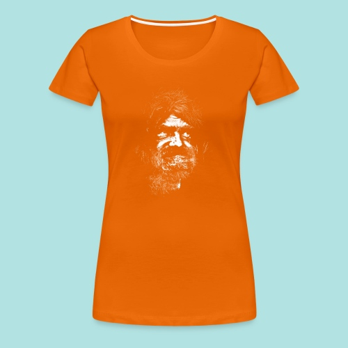 Old Guy, Eyes Open. - Women's Premium T-Shirt