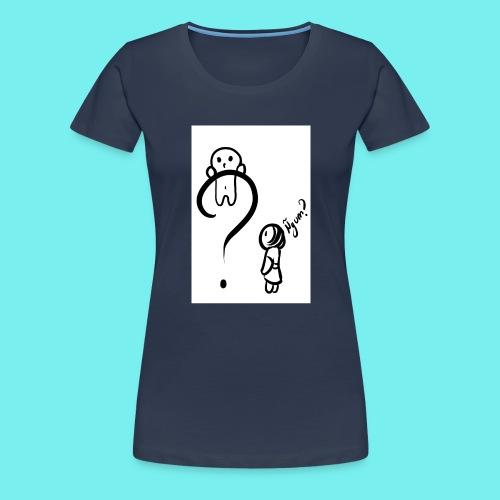 Qué? - Camiseta premium mujer