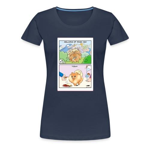 Pomeranian History - Maglietta Premium da donna