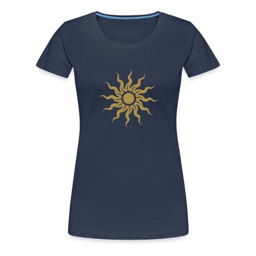 Golden Sun - Sonne - Frauen Premium T-Shirt