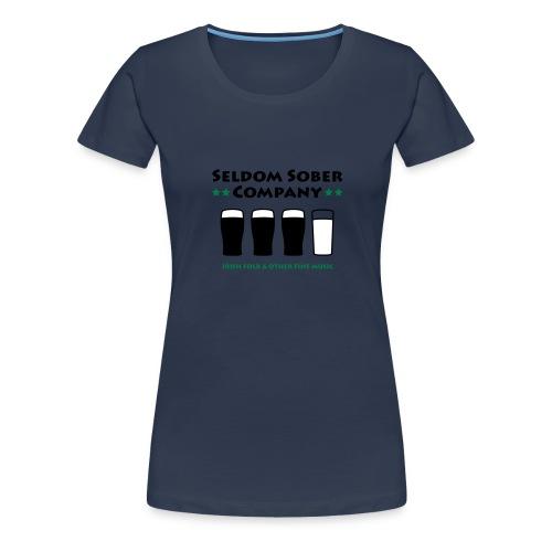 Bier und Milch - Frauen Premium T-Shirt