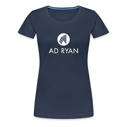 Logo_weiss_transp - Frauen Premium T-Shirt